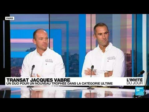 Armel Le Cléac'h et Kevin Escoffier, deux skippers associés pour vivre une nouvelle aventure