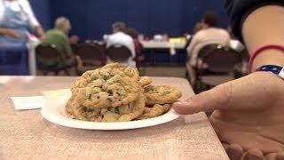Cookies Contest Judging   Iowa State Fair 2012
