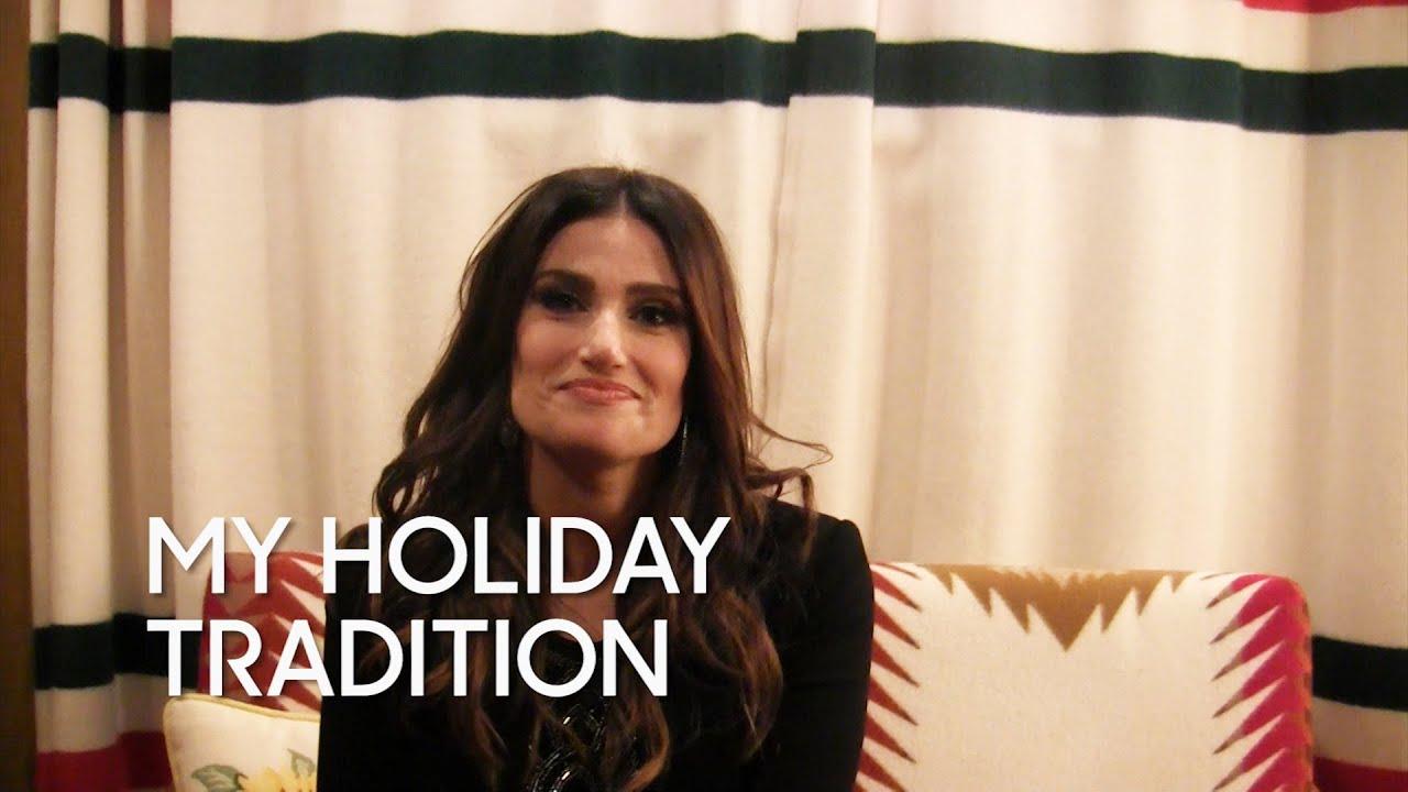 My Holiday Tradition: Idina Menzel thumbnail