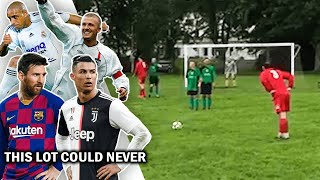 Is This The Greatest Free Kick Of All Time?