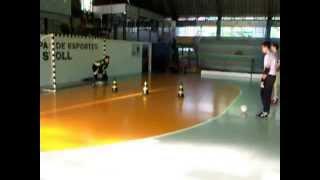 preview picture of video 'Horizontina Futsal   Treino específico de goleiro 01'