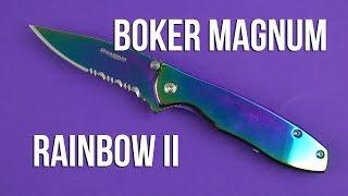 Boker Magnum Rainbow II (01YA107) - відео 1