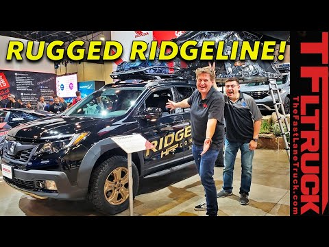 This Honda Ridgeline HFP Concept Is An Outdoor Lifestyle Truck! SEMA 2019 Debut
