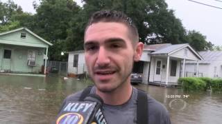 KLFY-TV Flooding August 12, 2016 10pm
