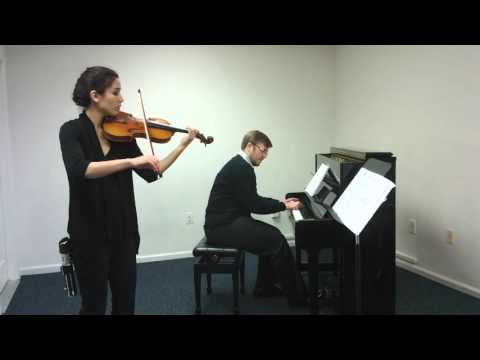 Having some fun with the Imperial March (Darth Vader's Theme) from Star Wars with my violinist friend Claire!
