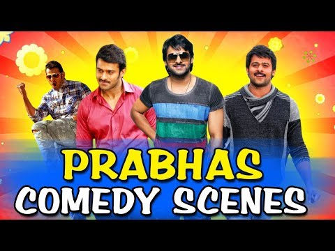 Prabhas Best Comedy Scenes | South Indian Hindi Dubbed Best Comedy Scenes