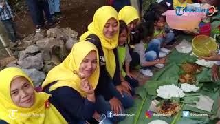 Lestarikan Mata Air Ratusan Warga Kandri Semarang Ikuti Nyadran Kali
