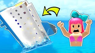 Roblox: SURVIVE THE SINKING SHIP!!!