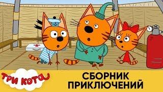 Три Кота | Сборник приключений | Мультфильмы для детей