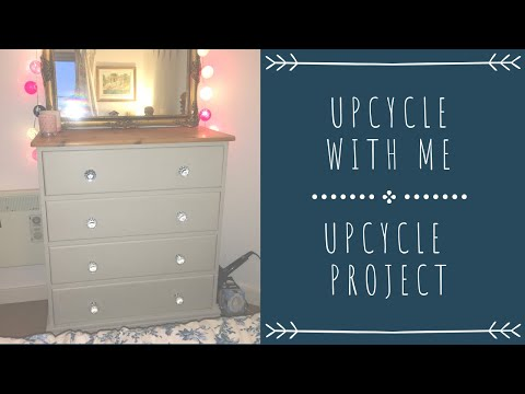 Upcycling With Me | Chest Of Drawers Upcycle Project