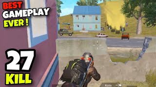THE BEST GAMEPLAY YOU WILL EVER SEE!!! | 27 KILLS SOLO VS SQUAD | PUBG MOBILE