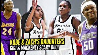 Kobe's Daughter Gigi Bryant & Zach Randolph's Daughter Mackenly TEAM UP & Win 8th Grade Championship