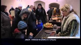 JIMLÍN: Adventní akce na zámku a v útulku (TV Litoměřicka)