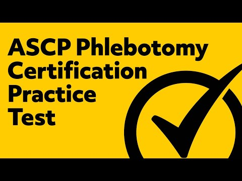 *FREE* ASCP Phlebotomy Certification Practice Test - YouTube