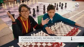 Tablero de ajedrez - El ajedrez se lee y las letras se juegan