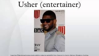 Usher Entertainer