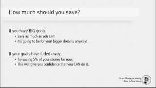 How to Save Money If You've Never Saved Before!