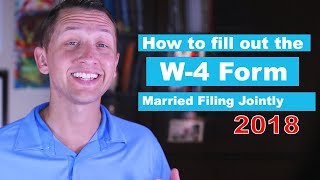 IRS Form W-4 Married Filing Jointly
