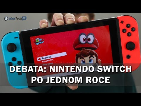 Debata: Nintendo Switch po jednom roce + SOUTĚŽ! - AlzaTech #713