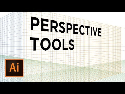 How to Use Perspective Tools | Adobe Illustrator Tutorial