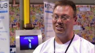exhibitor, Steve Staub