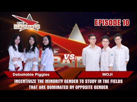 The Debaters Tập 10 | Nên theo đuổi ngành mà giới tính kia đang áp đảo? | Debatable Piggies vs MOJI