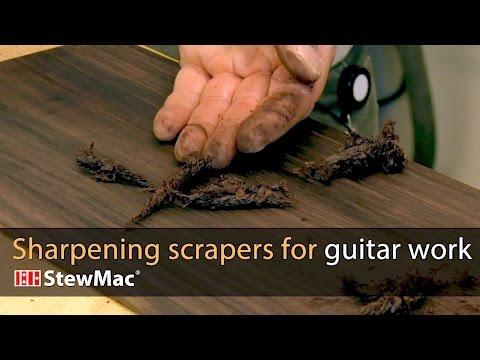 Sharpening A Scraper Master Class- Link Van Cleave | Speaking of