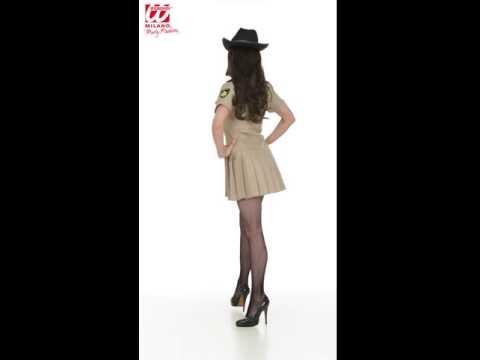 Sexy Sheriff Lady Kostüm