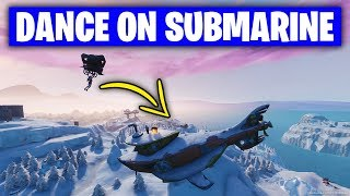 Fortnite 'Dance on top of a Submarine' LOCATION (Season 7 Week 1 Challenges Fortnite)