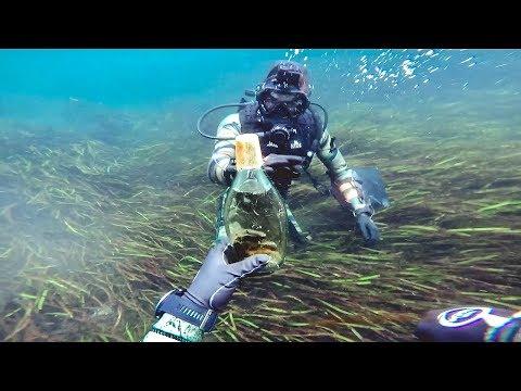 Found Car-keys, Rare Sunglasses, and Alcohol Underwater in River (ft. Dallmyd)   Jiggin' With Jordan