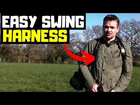 The Easy Swing - Metal Detector Harness Bungee