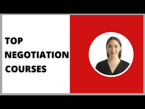 TOP 7 Negotiation Courses in 2020 I Learn from The Best ...