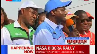NASA co-principal Kalonzo Musyoka quotes the bible in their coming victory