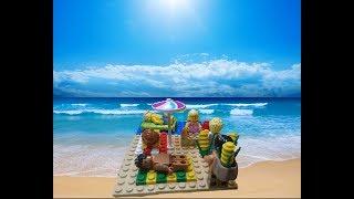 ЛЕГО самоделка - пляж
