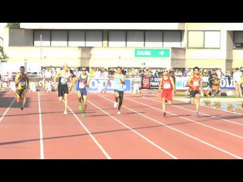 Cto. España Absoluto. 100 metros Semifinal
