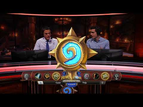 Casie vs Thijs - Group 2 Decider - Hearthstone Grandmasters Europe S2 2019 Playoffs