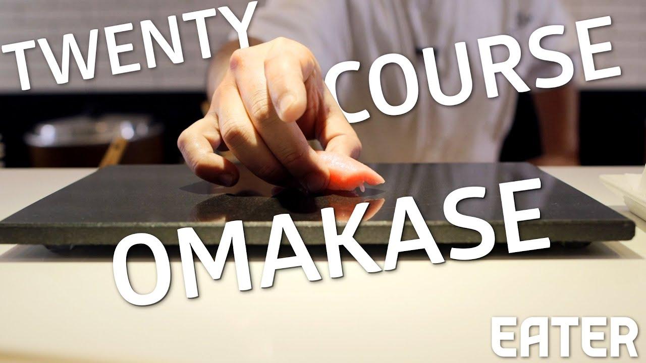What A Perfect Sushi Menu From Master Nakazawa Looks Like thumbnail