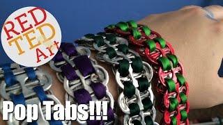 Easy Pop Tab Bracelets DIY (thanks To Bird Keeper Toby)