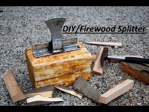 DIY   How To Make A Firewood Splitter