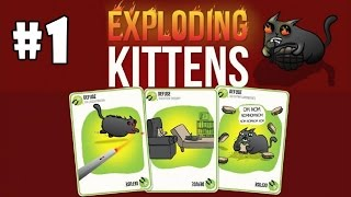Exploding Kittens [Multiplayer] Android Gameplay #1 [HD]