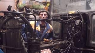 Двигатель д-245 замена прокладки