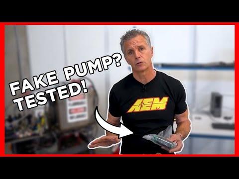 TESTED! AEM Fuel Pump Vs KNOCKOFF Pump!