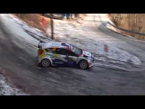 Monte-Carlo Rally 2019, with Adrien Fourmaux and Renaud Jamoul
