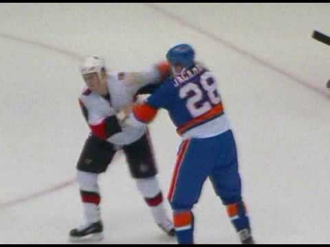 Tim Jackman vs. Chris Neil
