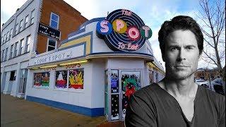 Rob Lowe's Family Diner - THE SPOT - Jordan The Lion Daily Travel Vlog (12/29/18)