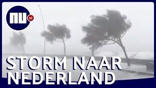 Orkaan Lorenzo laat spoor van vernieling achter op Azoren | NU.nl