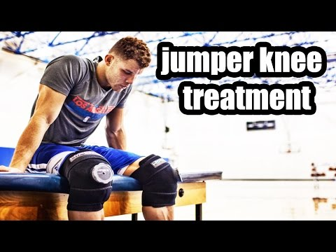 Video natural treatment for jumper's knee: clay