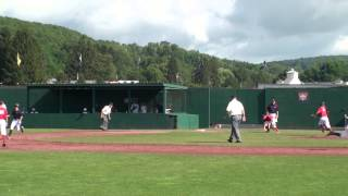 preview picture of video 'Cooperstown Dreams Park 2013 Week 9 Mt Olive Marauders 12u Travel Baseball Game 3 Highlights'