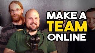 Finding Team Members Online