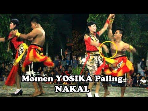 Download Yosika Hampir Tak Tahan  Menggoda Jathil Cantik Pacar Pongge Reog Ponorogo HD Mp4 3GP Video and MP3